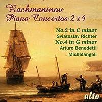 Pno Cons 2 & 4 Richter Michelangeli by S. RACHMANINO
