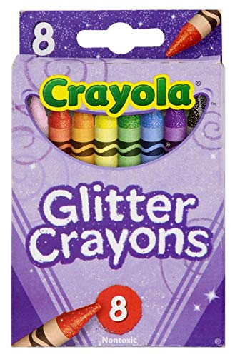 Crayola Glitter Crayons 8 Count