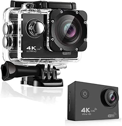 4K Action Camera OnReal Full HD Wi Fi 12MP Waterproof Cam 2 LCD 30M Underwater 170 Wide Angle product image