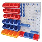 Faithfull FAIPAN43 Storage Bin Set with Wall Panels (43 Pieces)