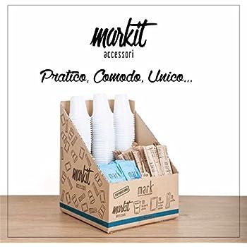 plateau agitateurs serviette Kit recharge 100 accessoires Caf/é: sucre canne et blanc gobelets