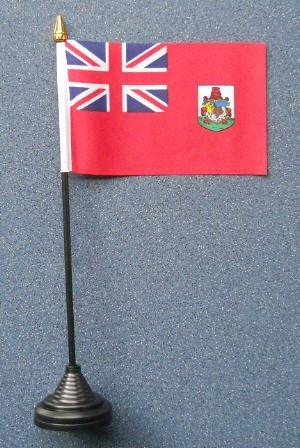 Bermuda País Bandera de mesa de escritorio