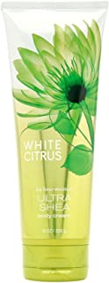 Bath & Body Works, Signature Collection Ultra Shea Body Cream, White Citrus, 8 Ounce