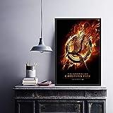 Juego Hot Movie Art Series Canvas Poster Wall Home Decor,Pintura sin Marco,50X75cm
