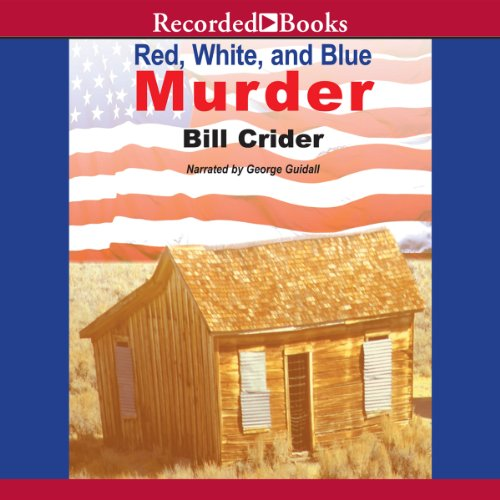 Red, White and Blue Murder audiobook cover art