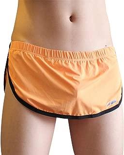 FUOE Men's Sexy Summer Underwear Boxer Shorts Low Waist Home Sleepwear Arrow Underpants