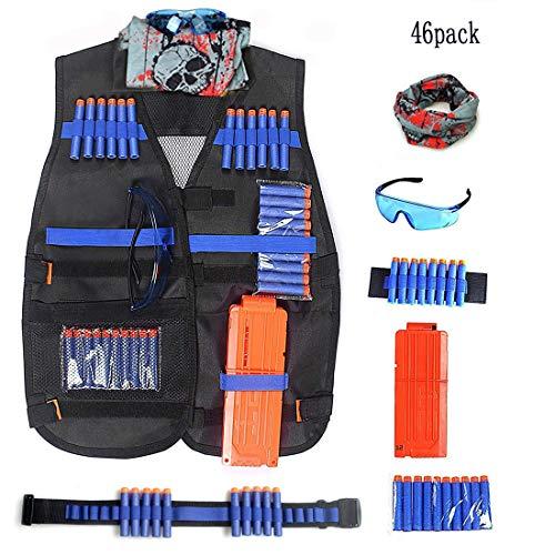 Demana Kids Tactical Vest Kit Tactische Camouflage Jungle Kit Jas voor N-Strike Elite Nerf Series vechten imitatie voor kinderen