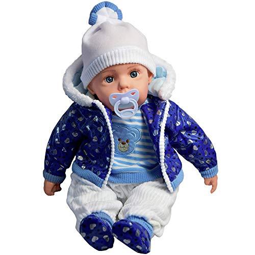 20' Lifelike Large Size Soft Bodied Bibi Baby Doll Girls Boys Toy With...