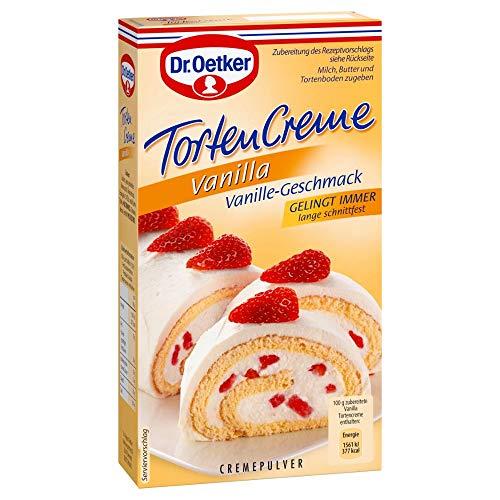 Dr. Oetker Vanilla Tortencreme, 1er Pack, 140 g