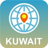 Kuwait Mapa Desconectado