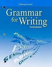 Grammar for Writing: Grade 10 (McDougal Littell Literature)