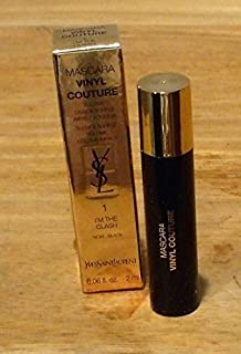 Yves Saint Laurent Mascara Vinyl Couture .06 oz i'm the Clash #1 Black