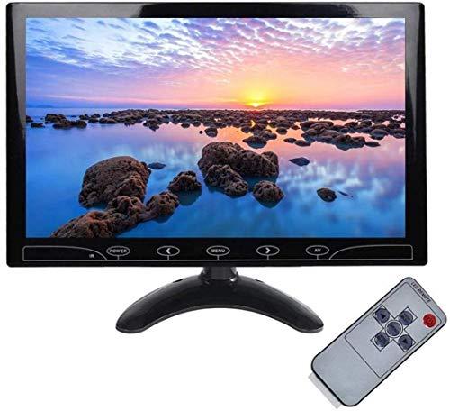 10.1 Zoll CCTV Small Monitor IPS Bildschirm HDMI Portable Display mit AV/VGA/HDMI/Audio Ports Lautsprecher Eingebaut für Haus Sicherheit CCTV Kamera DVR PC Monitor