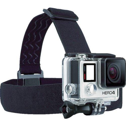 【国内正規品】 GoPro 純正アクセサリ ヘッドストラップ&クリップ ACHOM-001