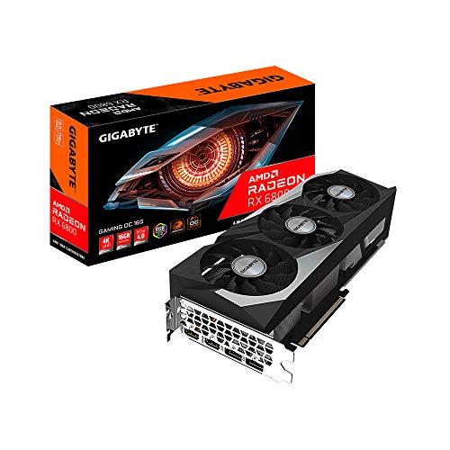 Gigabyte Technology Radeon RX 6800 Gaming OC - Tarjeta gráfica (16 GB), GV-R68XTGAMING OC-16GD