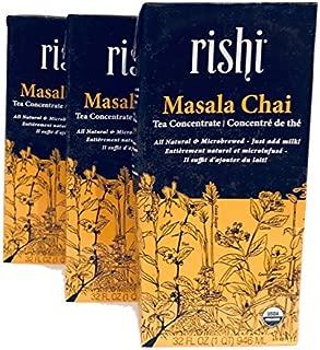 Rishi | Tea Concentrate | Masala Chai | 32 Ounces (3)