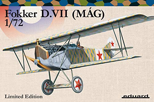 Eduard EDK2128 Kits 1:72 Ltd EDT-Fokker D.VII (MAG) Plastikmodellbausatz