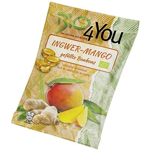 Bio4you Ingwer-Mango-Bonbons (75 g) - Bio