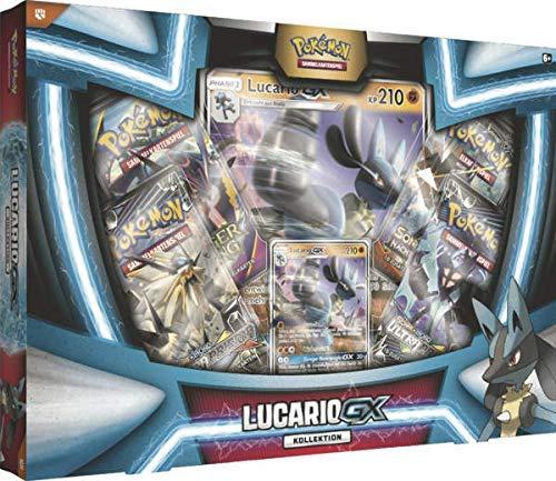 Lively Moments Pokemon - Carte da Collezione, Collezione Lucario GX