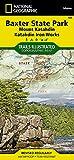 Baxter State Park [Mount Katahdin, Katahdin Iron Works] (National Geographic Trails Illustrated Map (754))