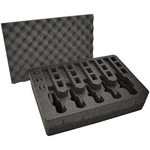 Pistol & Magazine Storage Foam Insert for Apache 4800 Case -...