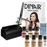 The Original: Dinair Airbrush Makeup Starter Kit | Fair Shades | Foundation Set!