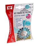 MP- Set figura de fieltro flor (PM251-30) , color/modelo surtido