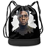 Zwinz Black Panther Wakanda Forever Beam Mouth Backpack&Drawstring