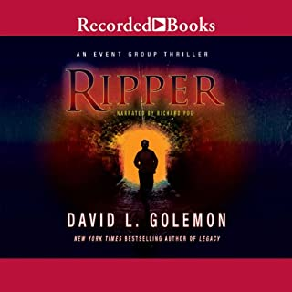 Ripper audiobook cover art