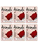 masque BAR Pretty Animalz Fox Facial Sheet Mask (6 Pack) — Korean Beauty Skin Care Treatment — Brightens, Soothes, Evens Skintone, Freshning, Radiant Skin — Spa Fun Face Mask Sheets Animal Characters