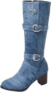 Melady Women Casual Autumn Shoes Block Heels
