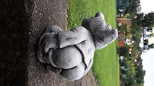 Koi-Börse Steinfiguren ca. 7000 gr. schwer Gnom Gollom nackten Popo Zwerge Gartenzwerge