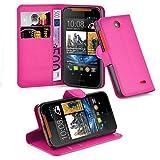 Cadorabo Hülle für HTC Desire 310 in Cherry PINK -