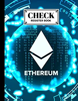 Check Register Book  Check Register Book Ethereum Cover A Book to Keep Track of the Checks in Your Accounts Checkbook Register Books Large Print by Patricia Fenlon