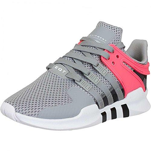 adidas Unisex-Erwachsene EQT Support ADV 792 Sneaker, Mehrfarbig (Medium Grey Heather Solid Grey/Core Black/Turbo Bb2792), 46 2/3 EU