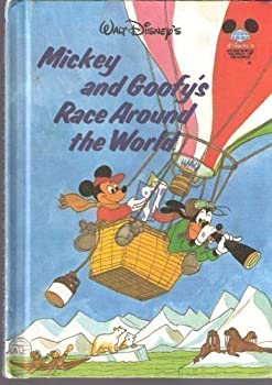 Mickey and Goofy's Race Around the World - Book  of the Disney's Wonderful World of Reading