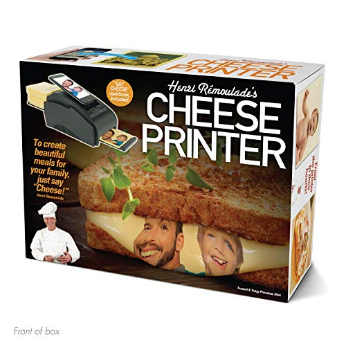 "Prank Pack ""Cheese Printer"" - Wrap Your Real Gift in a Prank Funny Gag Joke Gift Box - by Prank-O - The Original Prank Gift Box 