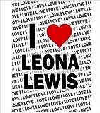 AK Giftshop Poster – I Love Leona Lewis – Geschenk –