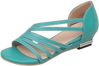 FANIMILA Women Elegant Heels Sandals Summer Shoes Open Toe