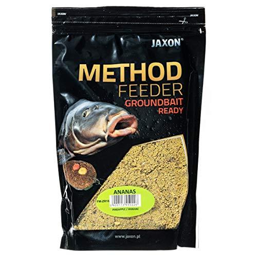 Jaxon Grundfutter Angelfutter Lockfutter Method Feeder Ready GROUNDBAIT 750g (Ananas/FM-ZR16)