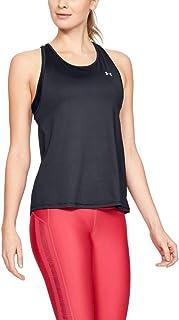 بلوزة رياضية بدون أكمام بشعار العلامة التجارية للنساء من اندر ارمور
