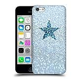 Head Case Designs Ufficiale Monika Strigel Blu piovoso Stella Pastello Glitter Cover Dura per Parte Posteriore Compatibile con Apple iPhone 5c