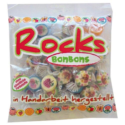 Rocks Bonbons, Hartkaramellen Frucht Mischung, 150g