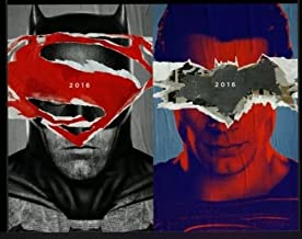 BATMAN V SUPERMAN: DAWN OF JUSTICE - Set of 2 Original Promo Movie Poster Set 13.25