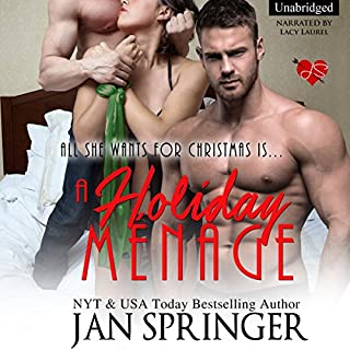 A Holiday Menage: All She Wants for Christmas Is... audiobook cover art