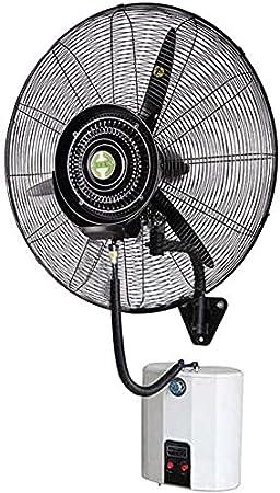 HHTX Ventiladores industriales de Pared de Alta Velocidad, Ventilador eléctrico,Ventiladores de nebulización oscilantes comerciales domésticos para el hogar y la Oficina