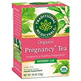 Traditional Medicinals - Organic Pregnancy Herbal Tea, Caffeine-Free - 16 Tea Bags