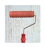 Black Temptation En Relieve Rodillo de Pintura Pintura de Pared Runner Wall Decor Herramienta de Bricolaje, patrón 1