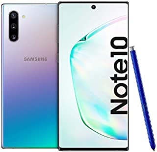 Samsung Galaxy Note 10 Dual Sim - 256GB, 8GB, 4GLTE, Aura Glow - International Version