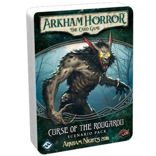 Fantasy Flight Games - Arkham Horror LCG: Scenario Pack - Curse of The Rougarou - Card Game